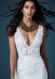 Maggie Sottero AIDAN Sheath Wedding Dress