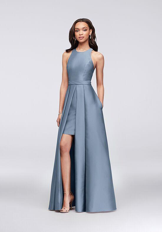 Davids Bridal Silver Dress