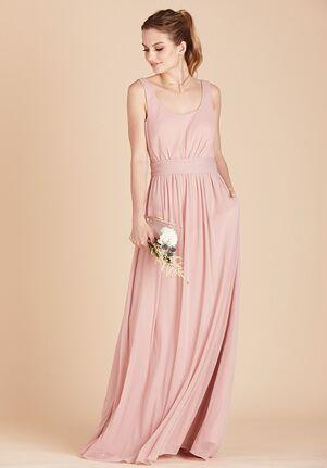 Birdy Grey Jan Scoop Back Dress in Rose Quartz Scoop Bridesmaid Dress