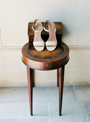 Simple, Elegant Bridal Footwear