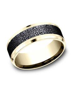 Benchmark CF948852BKT14KY Gold Wedding Ring