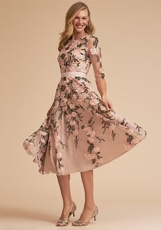 BHLDN (Mother of the Bride) Linden Dress Pink Mother Of The Bride Dress