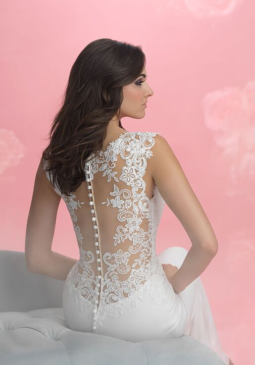 Allure Romance 3058 Sheath Wedding Dress