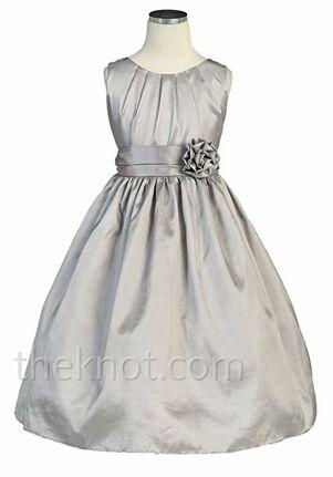 Pink Princess DSK355 Silver Flower Girl Dress