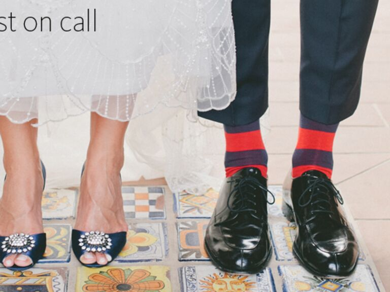 bride and groom shoes | onelove photography | blog.theknot.com