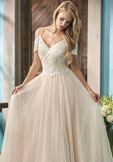 Jasmine Collection F191053 A-Line Wedding Dress