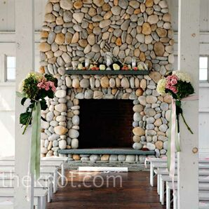 Rose Ceremony Decor