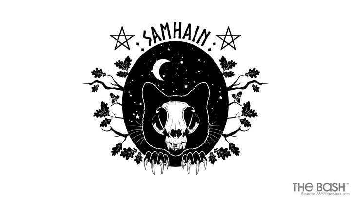 Halloween Zoom Background - Samhain