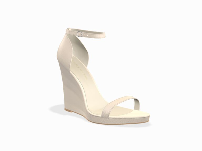Shoes of Prey wedding wedges