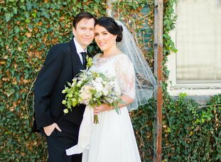 Samantha Margalit (29 and a wedding photographer) and Adam Ferraro (35 and works in hospitality) planned an intimate affair for their late-September w