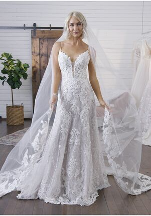 Maggie Sottero TUSCANY LANE A-Line Wedding Dress