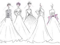 jasmine bridal prive line photo sketch