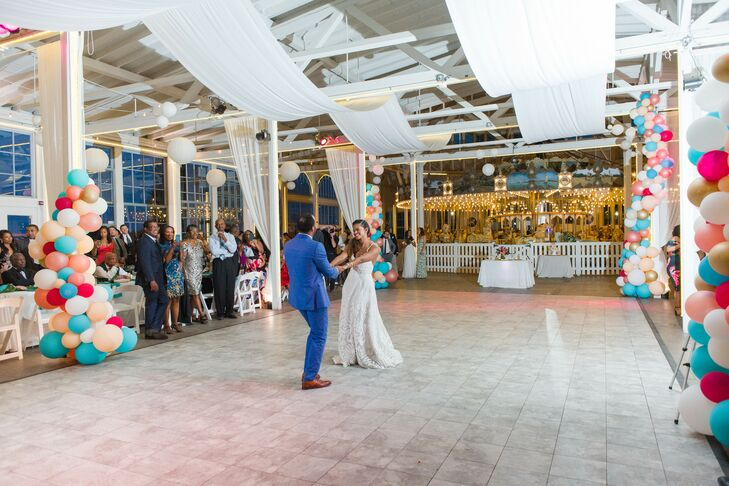 First Dance at Lighthouse Point Park in New Haven, Connecticut