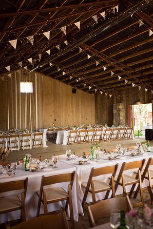 Rustic Barn Reception at Misty Farm
