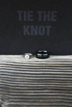 Unique Black Wedding Rings