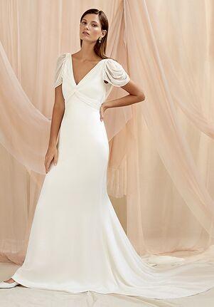 Savannah Miller CAMILLE Sheath Wedding Dress