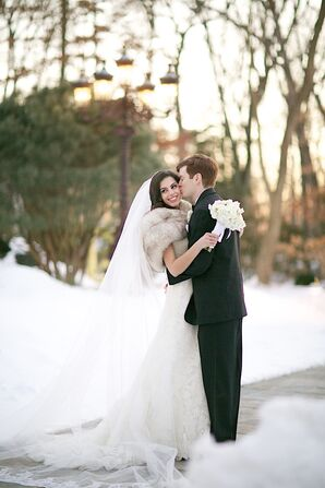 Jessica and Billy's Winter Wedding in New Jersey