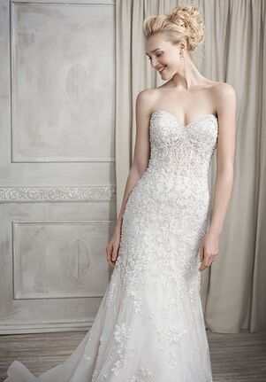 Kenneth Winston 1690 Sheath Wedding Dress