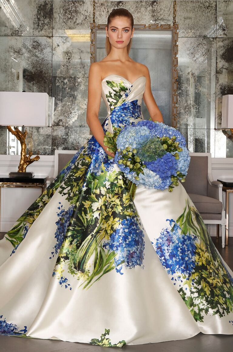 Romona Keveza Fall 2016 Collection Bridal Fashion Week Photos