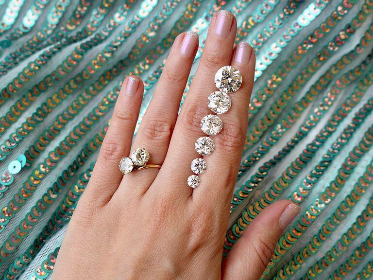 Diamond carat size everything to know