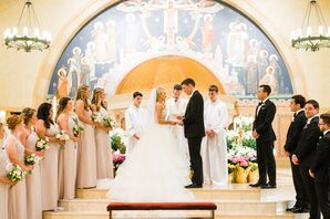 Traditional Church Wedding Ceremony