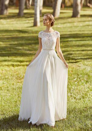 Aire Barcelona KARMA Sheath Wedding Dress