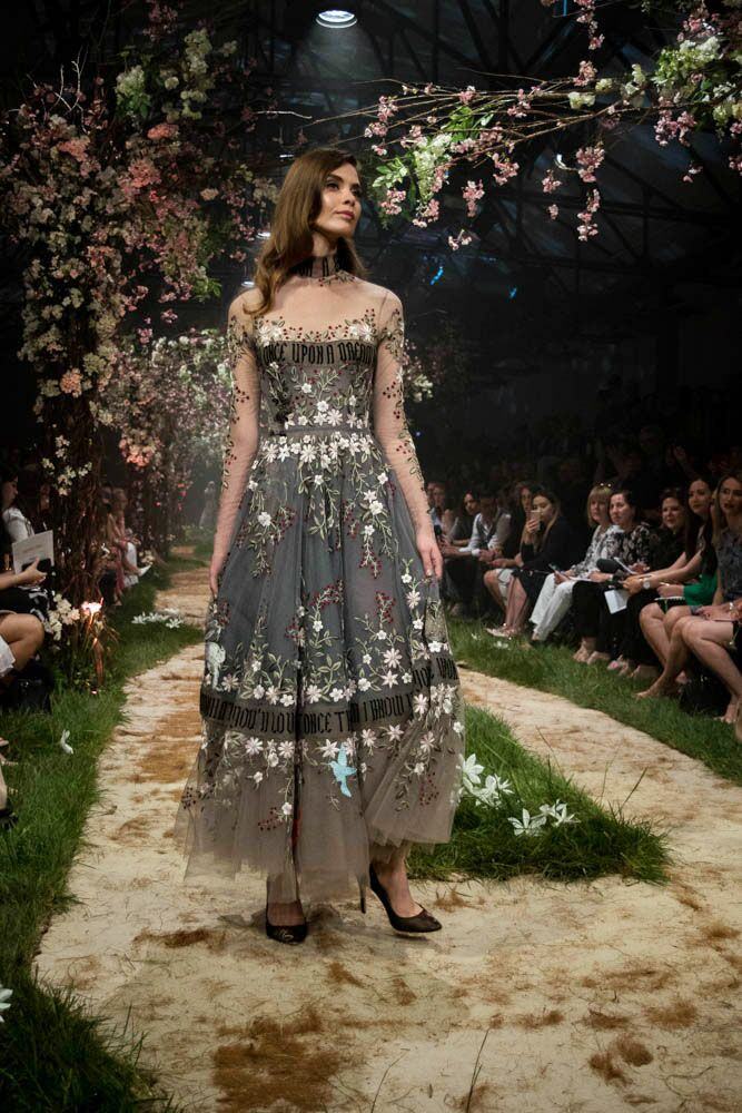 Paolo Sebastian Disney gowns sheer embroidery