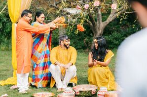 Traditional Activities at Indian Wedding in Concord, New Hampshire