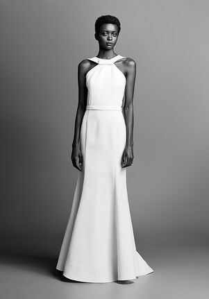 Viktor&Rolf Mariage GRAPHIC BOW BACK FIT AND FLARE Sheath Wedding Dress