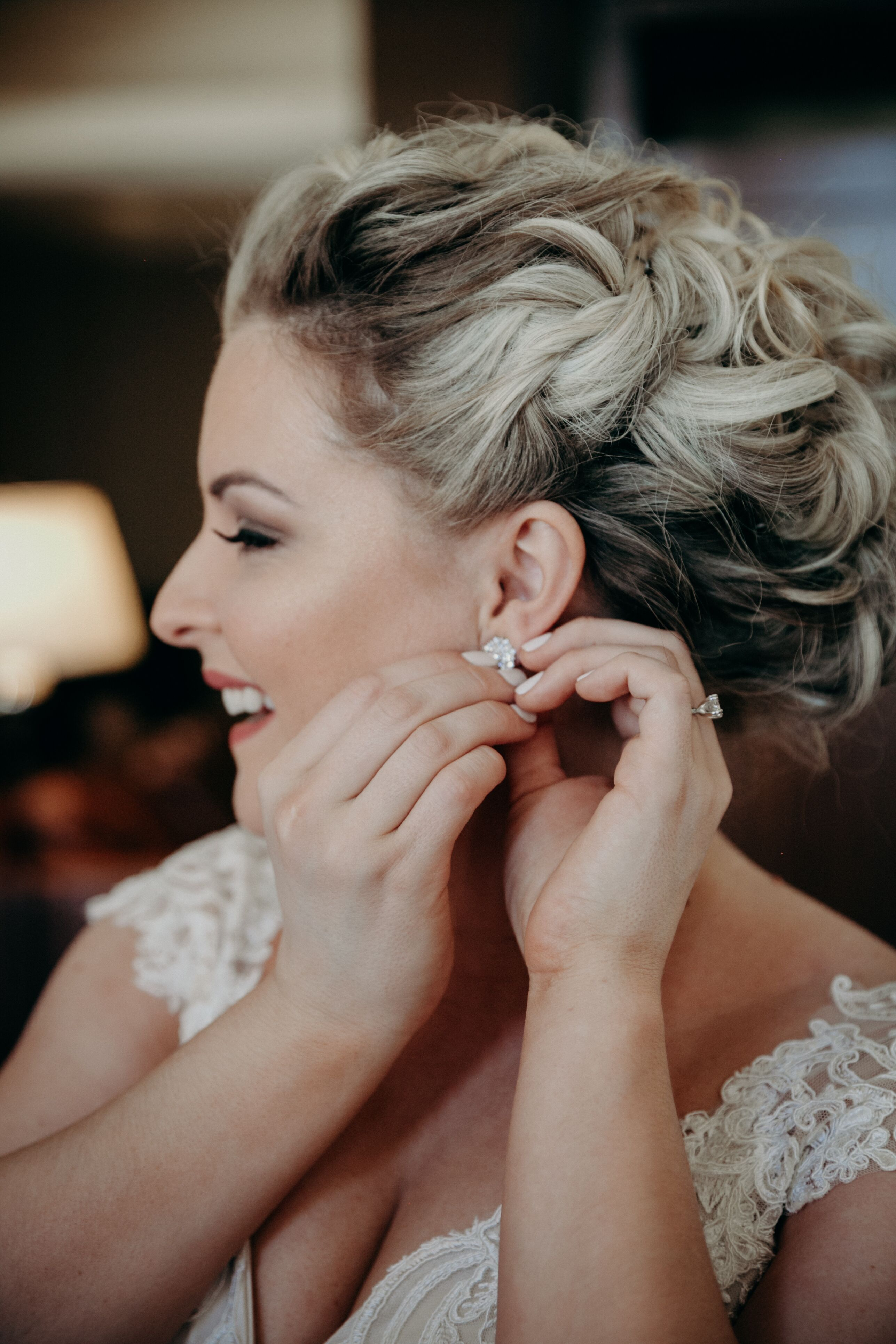 wedding hair and makeup twin cities | fade haircut
