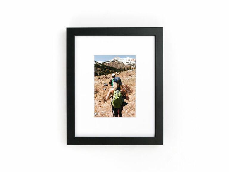 custom black picture frame