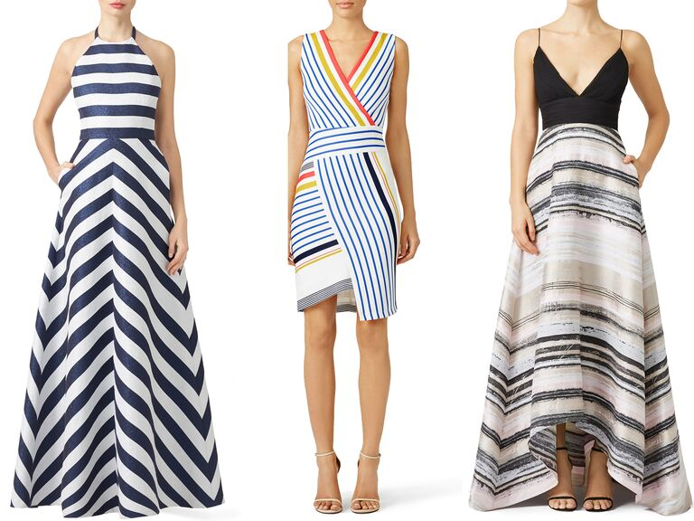 Rent the Runway Stipe Dresses