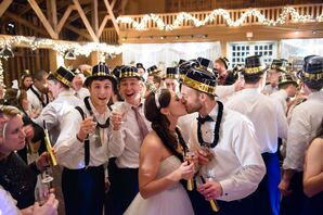 Rachel and James's New Year's Eve Wedding