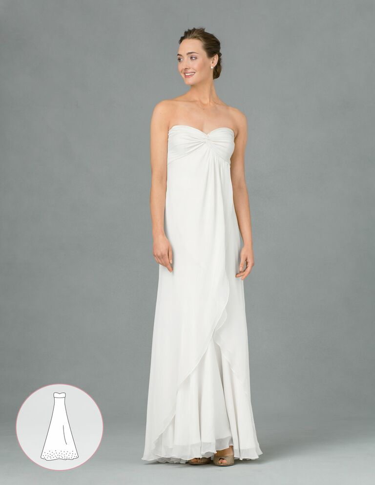 your ultimate guide to wedding dress silhouettes