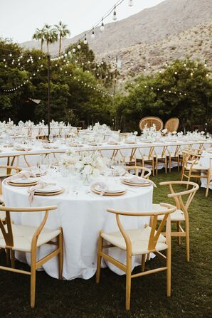 Bohemian, Modern Reception Space with Neutral Palette