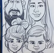 Fullerton, CA Caricaturist | Aaron's Cartoons and Caricatures
