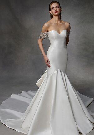 Badgley Mischka Bride Devina Mermaid Wedding Dress