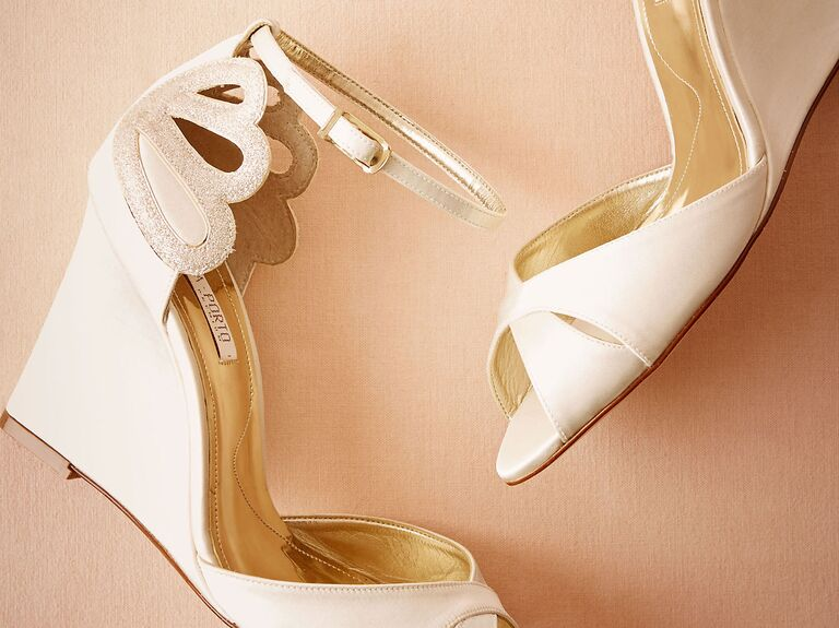 623cf50c3 42 Best Wedding Wedges You Can Buy Now