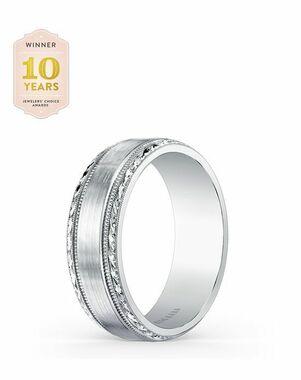 Kirk Kara Artin Collection SS6974M - B White Gold Wedding Ring