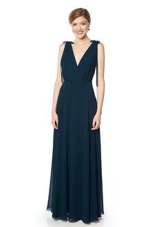#LEVKOFF 7135 V-Neck Bridesmaid Dress