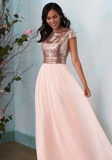 B2 Bridesmaids by Jasmine B203012 Bateau Bridesmaid Dress