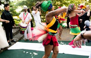 Samba Dance Recessional Celebration
