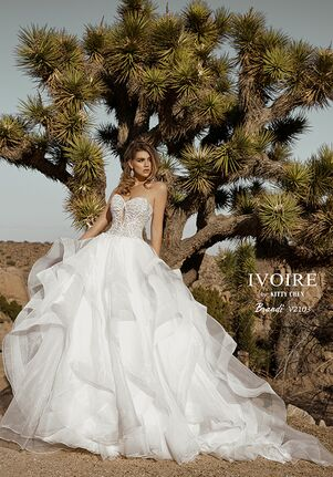 IVOIRE by KITTY CHEN BRANDI,V2103 Ball Gown Wedding Dress