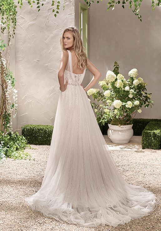 Jasmine Collection F191002 A-Line Wedding Dress