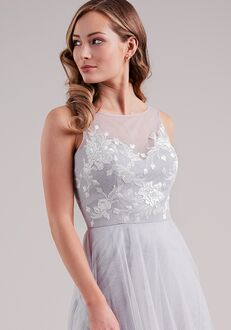 Belsoie Bridesmaids by Jasmine L224001 V-Neck Bridesmaid Dress