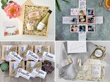 Bridesmaid proposal boxes
