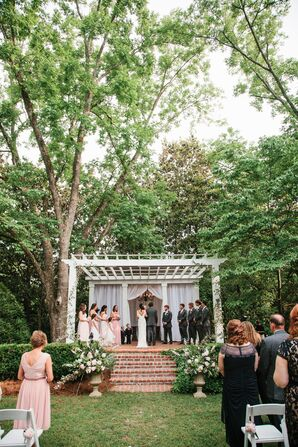Amy and Brandon's Timeless Terrace Ceremony