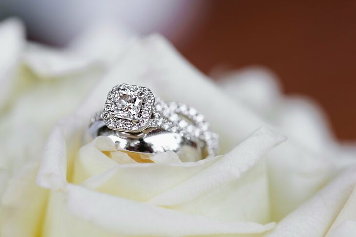 """Stephen proposed to Sarah right before they were getting ready to take their first big vacation to Ireland together. Obviously, I burst into tears and nodded my head """"yes."""" I was so caught up and excited about how pretty my new ring was, I grabbed it and put it on my finger myself, recalls Sarah."""
