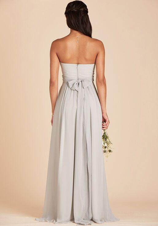 Birdy Grey Grace Convertible Dress in Dove Gray Sweetheart Bridesmaid Dress