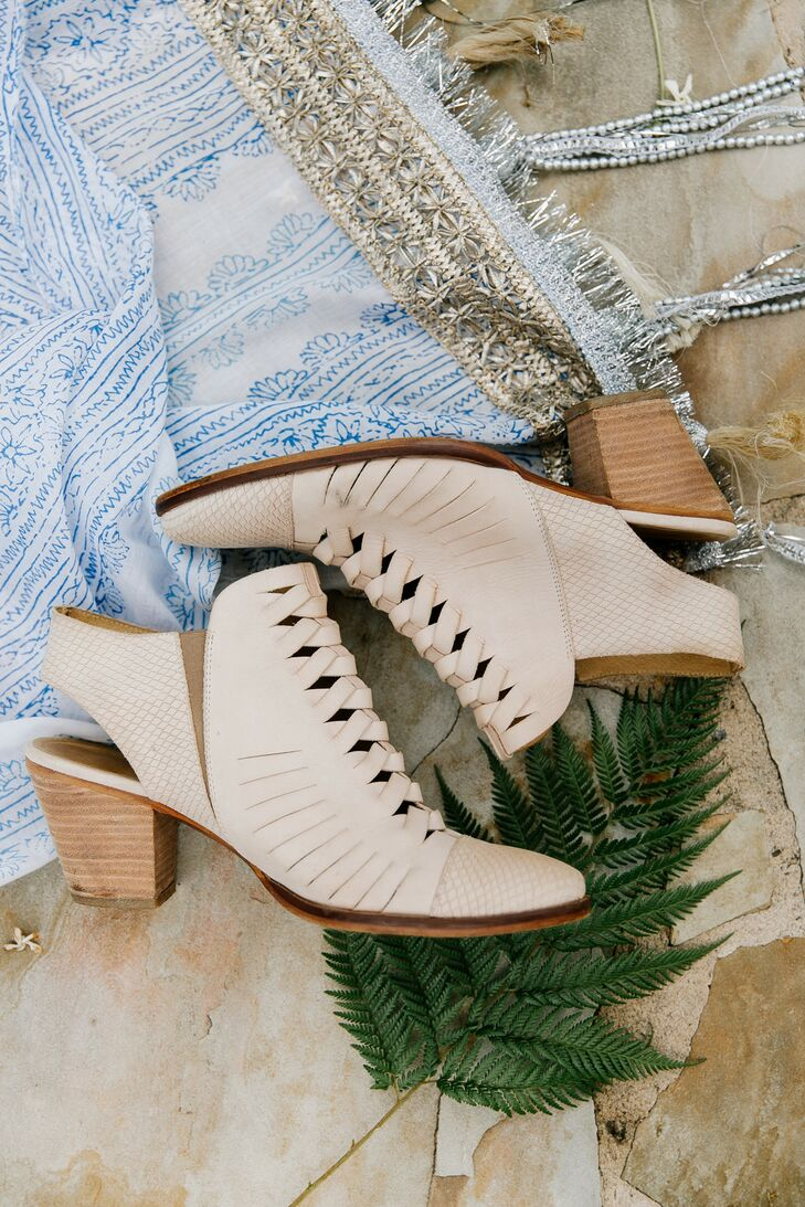 Bohemian Suede Booties with Heel